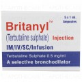 Britanyl Inj 0.5mg 5Ampx1ml