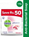 Buy 4 Dettol soaps 130 gm Save Rs 50 Skin Care