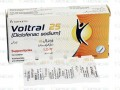 Voltral 25 Suppositories 25mg 10's